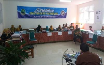 Akreditasi SMAN 9 Bandung