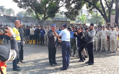 SMAN 9 Bandung kedatangan Walikota Bandung, kegiatan hari bakti PU